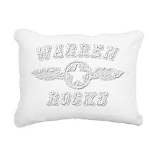 WARREN ROCKS Rectangular Canvas Pillow
