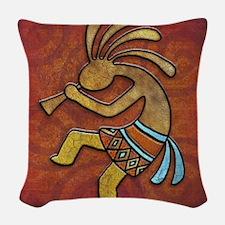 Best Seller Kokopelli Woven Throw Pillow