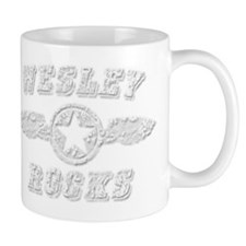 WESLEY ROCKS Mug