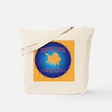 Goldfish Pin Tote Bag