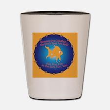 Goldfish Pin Shot Glass