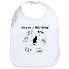 What is your cat thinking? Bib