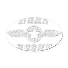 WARE ROCKS Oval Car Magnet