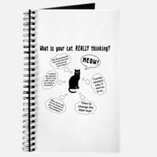 What is your cat thinking? Journal