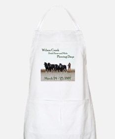 2007 Plowing Days BBQ Apron