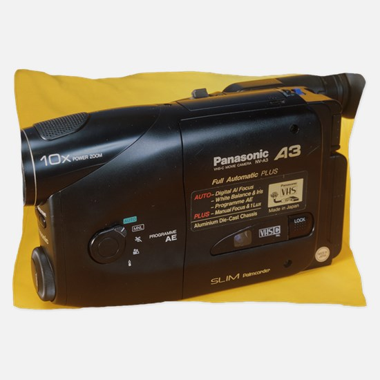 Camcorder Pillow Case