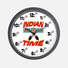 NATIVE AMERICAN CLOCK Wall Clock