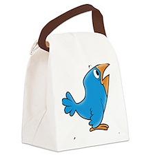 cartoon bird Canvas Lunch Bag