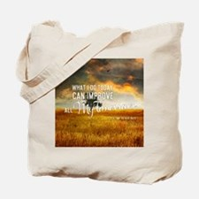 What I Do Today Tote Bag