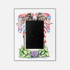 elegant memory frame sympathy card in loving