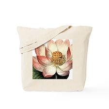 Botanical Lotus Tote Bag