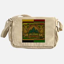 Kush 420 Shower Curtain Messenger Bag