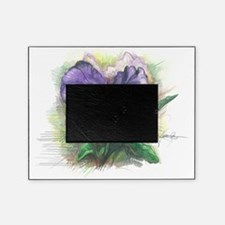 Purple pansy Picture Frame