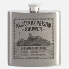 Alcatraz Shower Curtain Flask