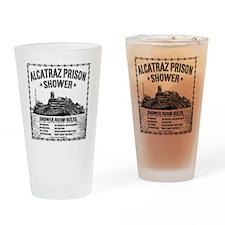 Alcatraz Shower Curtain Drinking Glass