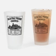 Alcatraz Shower Curtain Drinking Glass