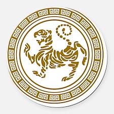 Shotokan Tiger Shower Curtain Round Car Magnet