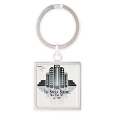 Baxter Building Square Keychain