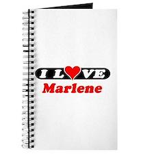 I Love Marlene Journal