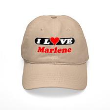 I Love Marlene Baseball Cap