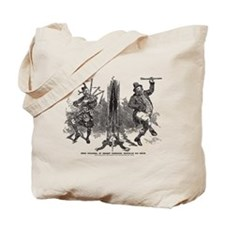 Scottish Irish Antique Playbill 1895 Tote Bag