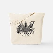 Scottish Irish Antique Playbill 1895 Tote Bag