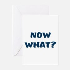 Now What? Graduated Greeting Cards (Pk of 10)