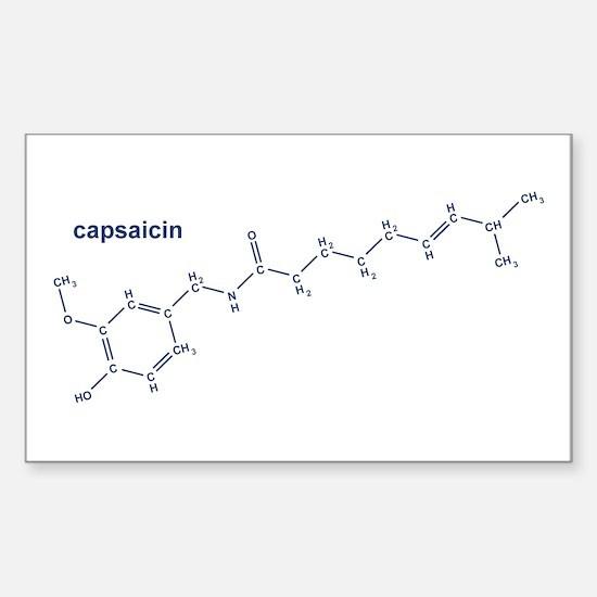 Capsaicin Rectangle Decal