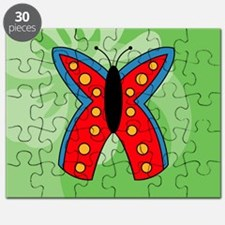 Butterfly Rectangular Hitch Cover Puzzle
