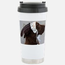 Meg the Big Brown Dog Stainless Steel Travel Mug