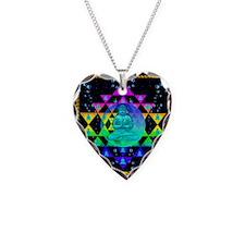 Buddha Shower Curtain Necklace Heart Charm