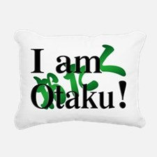 I am Otaku ! Rectangular Canvas Pillow