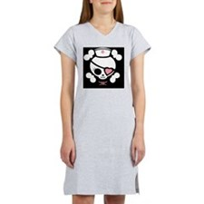 molly-rn-heart-OV Women's Nightshirt