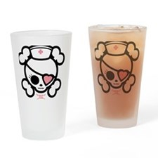 molly-rn-heart-T-png Drinking Glass