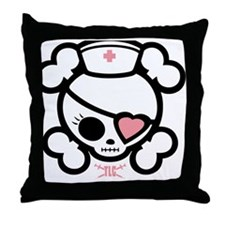 molly-rn-heart-T-png Throw Pillow