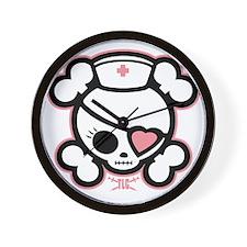 molly-rn-heart-DKT Wall Clock