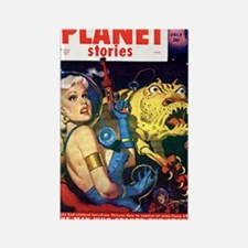 planet stories Rectangle Magnet