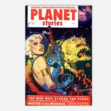 planet stories Postcards (Package of 8)