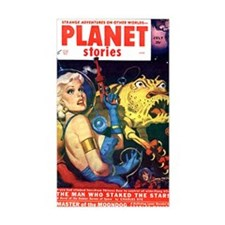 planet stories Decal