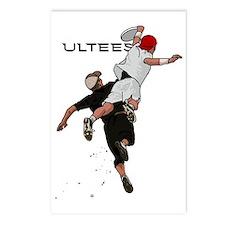 Bid over shoulder+Ultees Postcards (Package of 8)