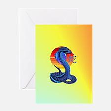 Jewel Heart Jewel Year Of The Snake  Greeting Card