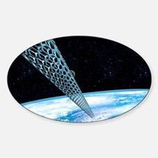 Carbon nanotube space elevator Decal