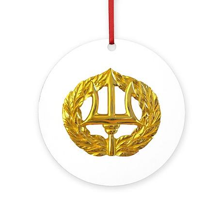 Command Ashore badge Round Ornament
