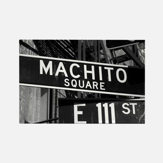Machito Afro Cuban Orchestra Span Rectangle Magnet
