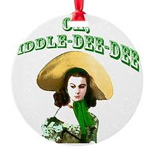 Fiddle dee dee Ornament