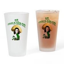 Fiddle dee dee Drinking Glass
