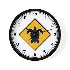 Turtle Crossing I, Hawaii Wall Clock