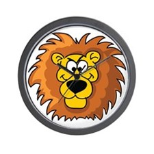 Cartoon Lion Wall Clock