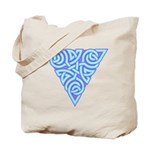 Serene Triangle Knot Tote Bag