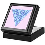 Serene Triangle Knot Keepsake Box